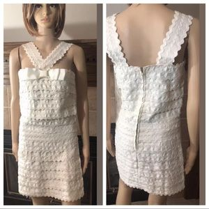 Size 4 Marc by Marc Jacobs White Dress NWT